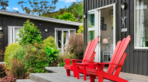 Creating the relaxing bach feeling at Flaxmill Bay Hideaway  photo