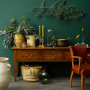 Green paint, Dark Green Paint, Heritage interior design, Resene Mother Nature, Vintage, Antiques