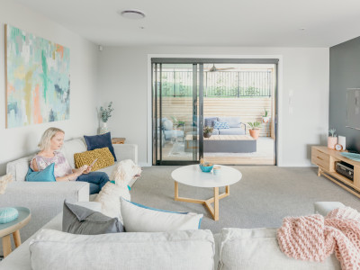 Joe and Lisa's bright and beautiful family home