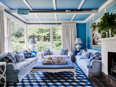 Charlotte Coote's expertly coloured Mt Macedon home has style to spare