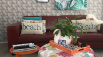 Joanne and Chris bring beachy brights to their B&B photo