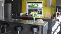 Rohan's Bright and Funky Industrial Design Townhouse photo