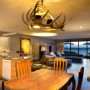kitchen, dining room, lounge, living room, open-plan living, neutral colour scheme