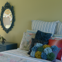 green, bedroom, master bedroom, fresh colours, paint ideas, paint trends