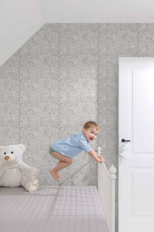 nursery inspiration, nursery ideas, nursery wallpaper, wallpaper inspiration, neutral nursery ideas