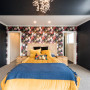 black, wallpaper, black, feature wall
