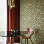 dining room inspiration, wallpaper inspiration, wallpaper feature wall, dining room ideas, resene