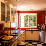 kitchen walls, red, paint ideas, paint trends, bold paint