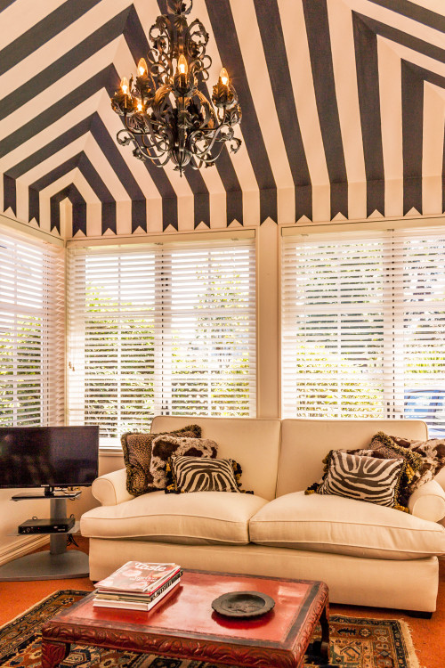 painted stripes, paint ideas, paint trends