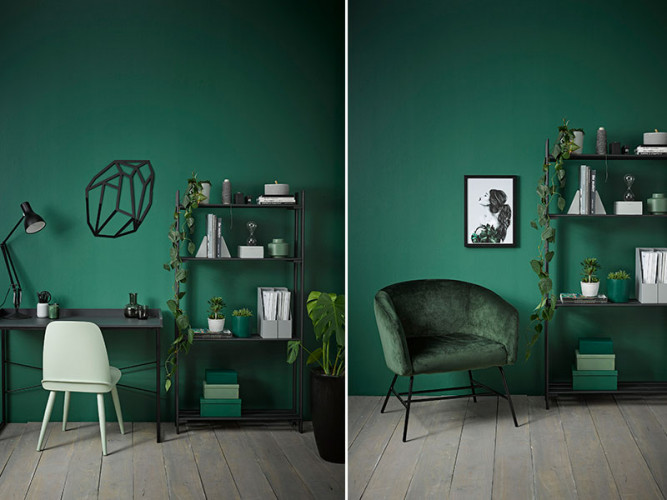 study, office he den, she den, green room, green feature room, green study, green office