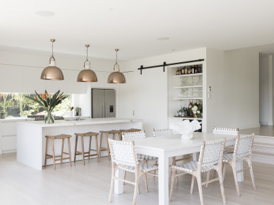 Kate and Nick's Meadowbank home is a vision of light and movement
