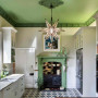 kitchen inspiration, painted ceiling ideas, green ceiling ideas, green kitchen ideas, kitchen ideas