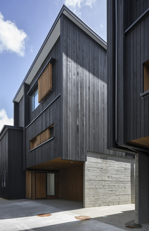 resene cool colour, stain ideas, stain inspiration, exterior timber stain, black exterior stain