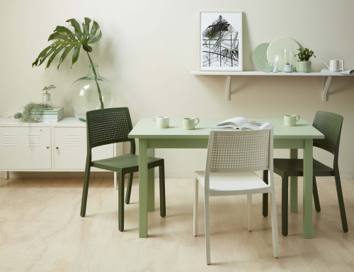 dining room, green dining room, green and white, green paint, green inspiration