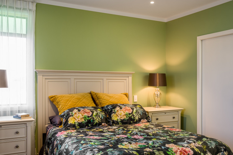 bedroom inspiration, bedroom ideas, green bedroom ideas, green interior ideas, colour palette