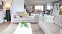 Mel and Logan's stylish Southland reno photo
