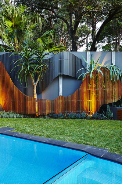 Two super stylish gardens