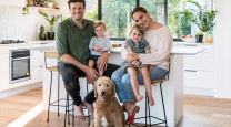 Oliver and Ella's six-month journey to their enviable dream home photo