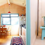 tiny home ideas, small home inspiration, kitchen inspiration, plywood interior ideas, resene