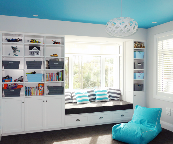 blue, children, bedroom, kid's room, play room, playrom, paint ideas, paint trends