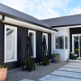 exterior, black, neutrals, block colour