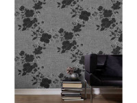 6 ways to incorporate the black and white wallpaper trend
