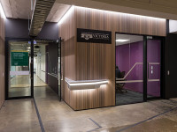 Victoria University's CMIC Centre given an innovative violet-hued fitout