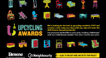 Enter your creative DIY projects in Resene's Upcycling Awards