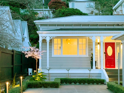 See how this 120-year-old Wellington villa finally got the renovation it deserved