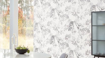 6 white wallpaper designs that make a stylish statement