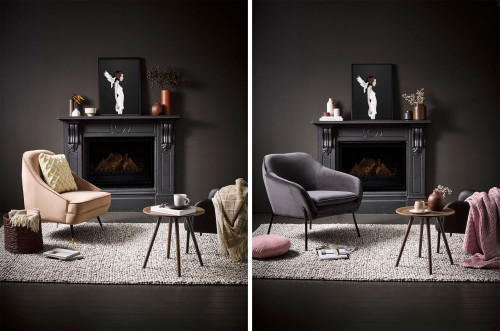 decorating with black, how to create a colour palette, creating a colour palette, black living room, Resene